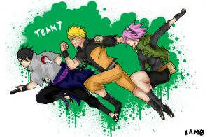 Team 7 Reunited by Lamb-Charmer