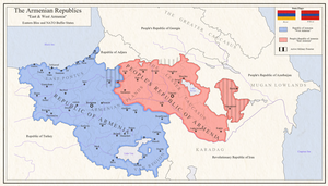 Republics of Armenia by zalezsky