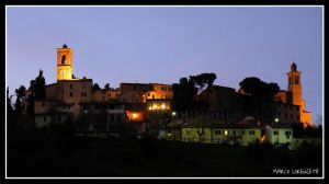 CASTELBELLINO (AN) - MAGIC AT THE DUSK by MarcoLorenzetti