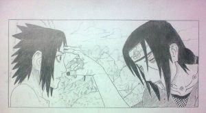 Itachi's Death by AzarTaicho