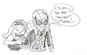 Spidey's pain marchsketchdump by thejeremydale