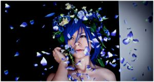Vocaloid_Blue petals by SoranoSuzu