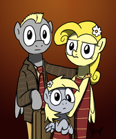 Bittersweet 43 - Derpy Family Portrait by petirep