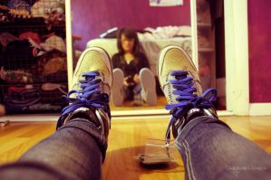 coraline dunks by himynameisbianca