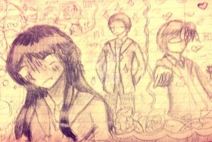 Aurelia's thoughts while in school by Dhanica02