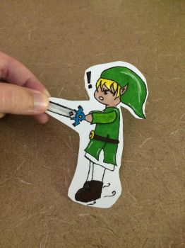 Link Paper Child by angel446