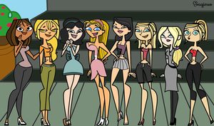 Total Drama - Girls Day Out by evagimxo