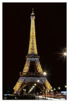 Eiffel Tower - Light The Night by IngoSchobert