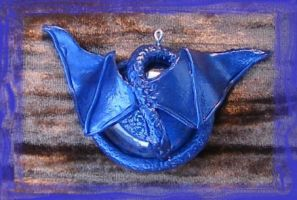 Dragon Pendant 5 by GoblinMorningTea