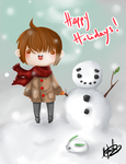 Happy Holidays by hleexyooj