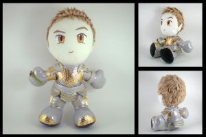 King Alistair plushie - Awakenings by eitanya