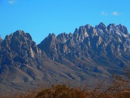 The Organ Peaks by SharPhotography