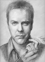 Kiefer Sutherland by TerryXart