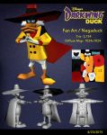 3d negaduck by drawfox5