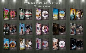 My Movie Store DVDs Pack 6 by ibg-5