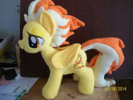 Spitfire Plush by SiamchuchusPlushies