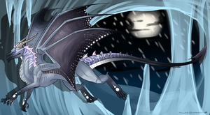 Ice Dragon Auction  CLOSED by PointtAdopts