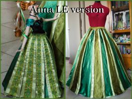 WIP : Anna LE version by Rapunzinette