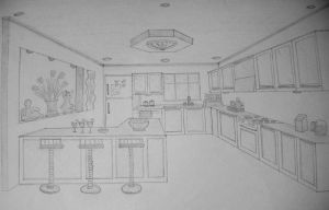 Kitchen by eivaj