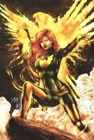 Jean Grey / Phoenix (colors) by FantasticMystery