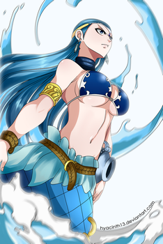 Manga coloring. Fairy tail, chapter 310 by soldagarius