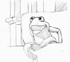 Robin the Frog sketch by Gr8Gonzo