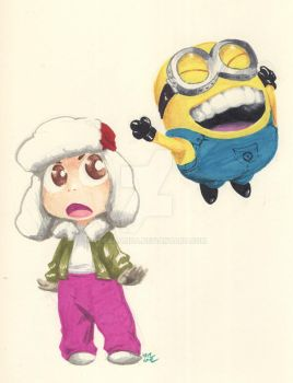 Baby Ody and Minion by theCHAMBA
