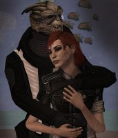 Mass Effect: Can't let you go by SpectreOfKirkwall