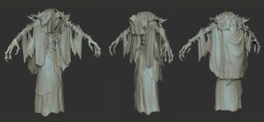 Darksiders II Lich Zbrush Model by GrayGinther