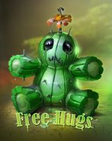 dangerous free hugs by ptitvinc