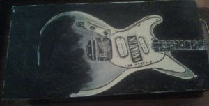 Nirvana Guitar by marlainawho