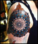 Colorfull mandala by Meatshop-Tattoo