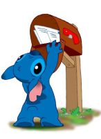 Stitch Fetching the Mail by MichaelMayne