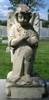 Mount Olivet Cemetery Angel 41 by Falln-Stock