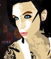Andy Biersack by Posthardcorelife