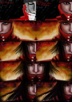 Vincent Valentine from FF7 Making-of by Matou31
