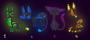 Rave Cat Adoptables by Paper-Phoenix-Adopts