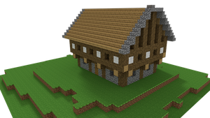 Minecraft old House by Tohmis