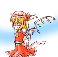 Crappy Flandre Scarlet by Krooked-Glasses