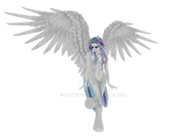 Frost Heart Pony OC (IMVU) by Whitephoxx