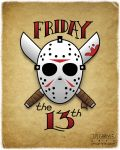 Friday the 13th by JMCarlyle