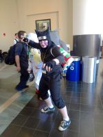 Kankuro- Anime Boston 2014 by BloodKaika