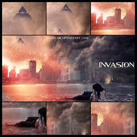 Invasion ~ mosaic by RazielMB
