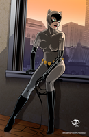 Catwoman by Tloessy