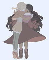 petiole and carmella by teacosies