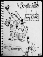 Suicide Cupcake: Alice in Blunderland by SydeTrakked