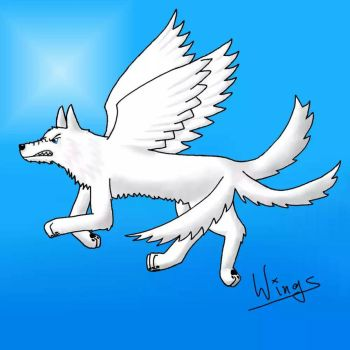 White Wolf by MetaWings