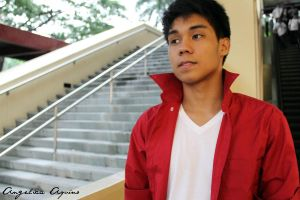 EDCEL and his favorite polo by Angelica-Aquino