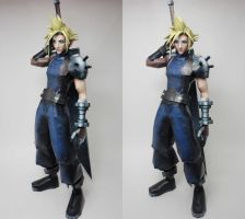 Cloud Strife Papercraft 3D Shot by BRSpidey