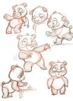 Panda Sketches by tombancroft